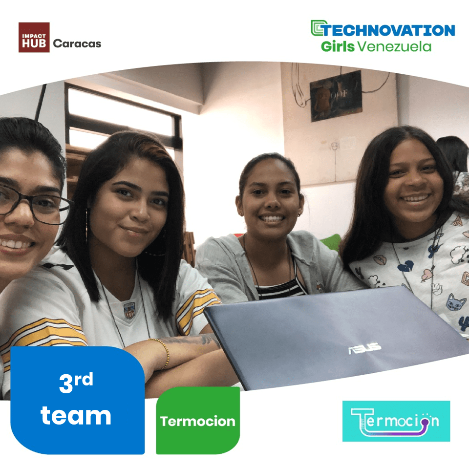 Semifinalistas por Venezuela Technovation Girls