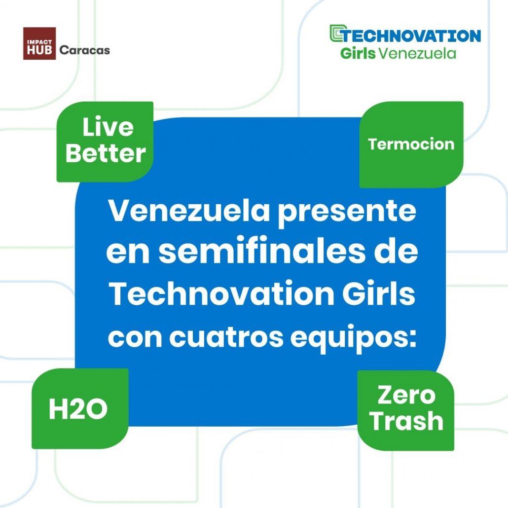 Cuatro equipos venezolanos en las semifinales de Technovation Girls