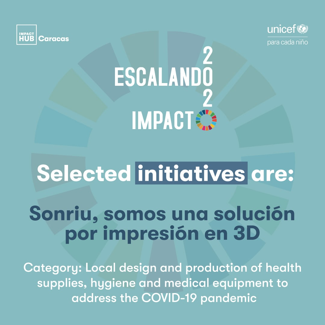 Sonriu, initiative selected  in Escaling Impact 2020 Program