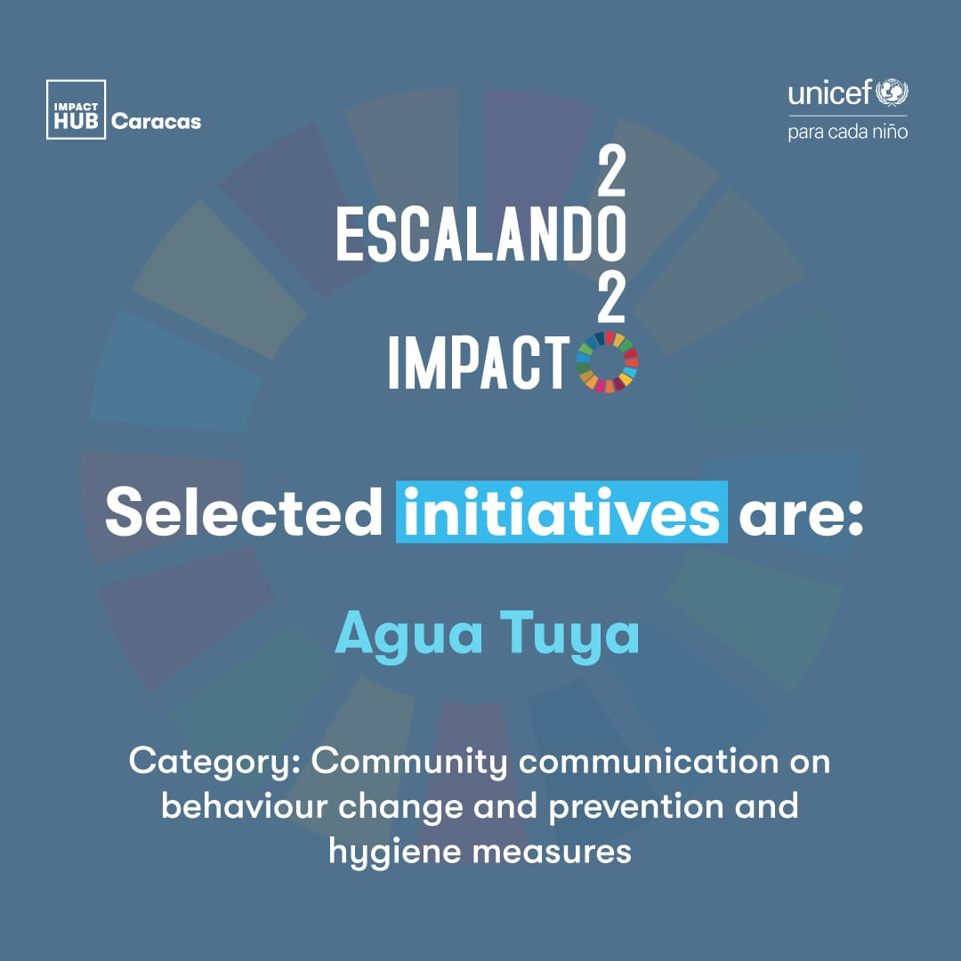 Agua Tuya, initiative selected in Escaling Impact 2020 Program