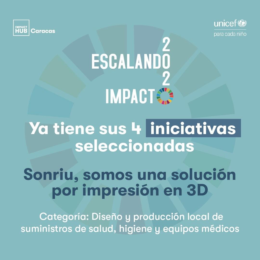 Sonriu, iniciativa seleccionada en Escalando Impacto 2020
