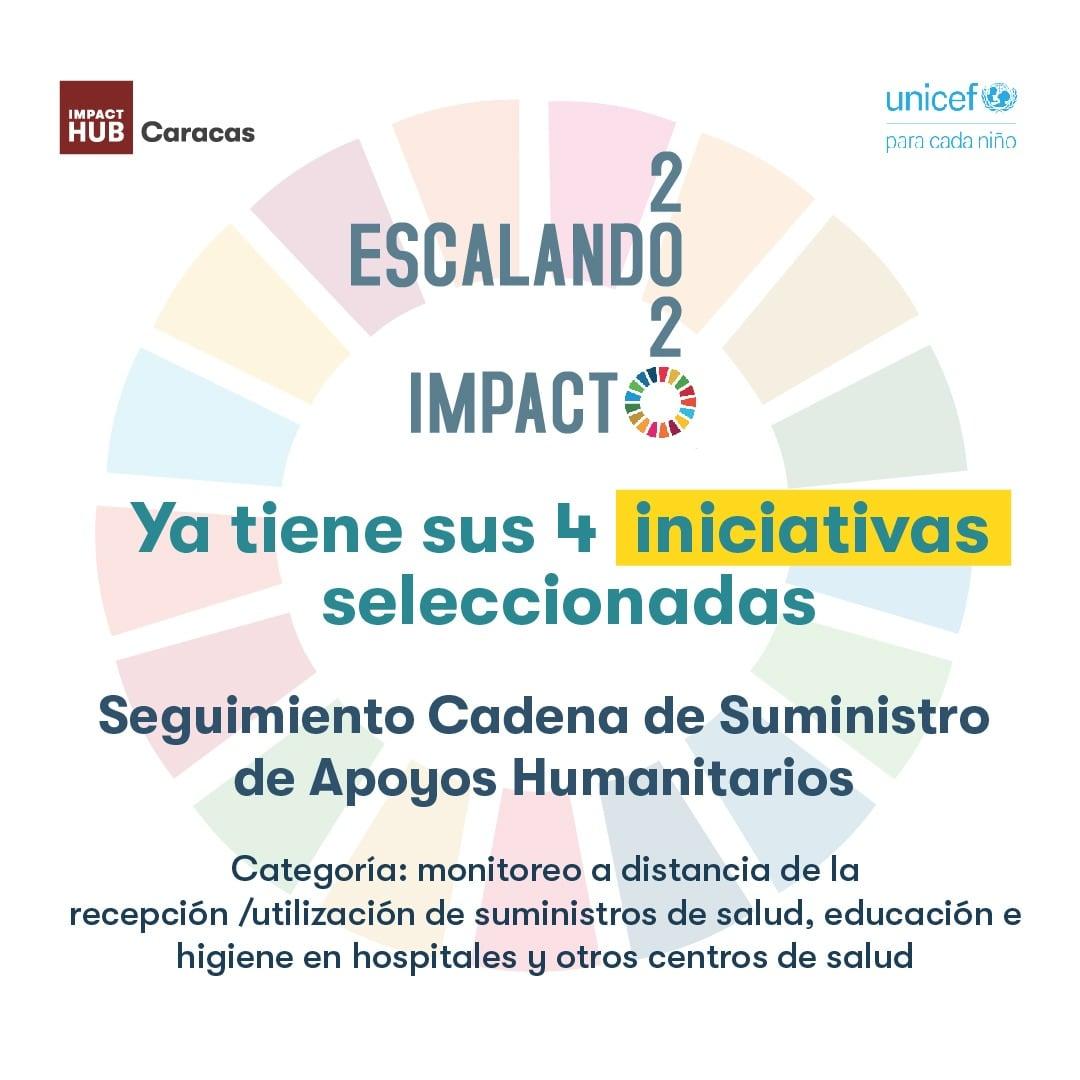 Seguimiento Cadena de Suministro de Apoyos Humanitarios, iniciativa seleccionada en Escalando Impacto 2020