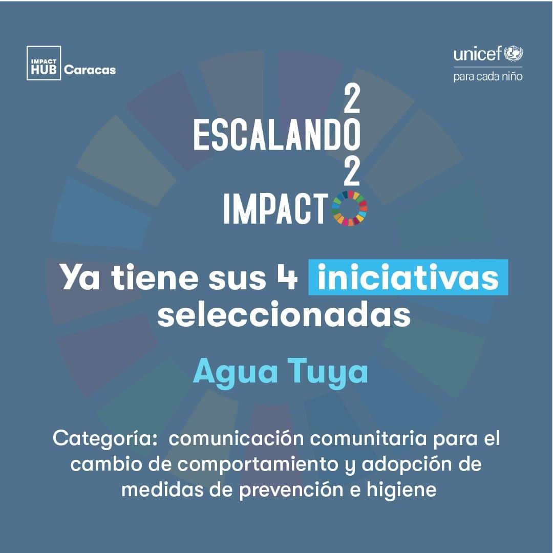 Agua Tuya, iniciativa seleccionada en Escalando Impacto 2020