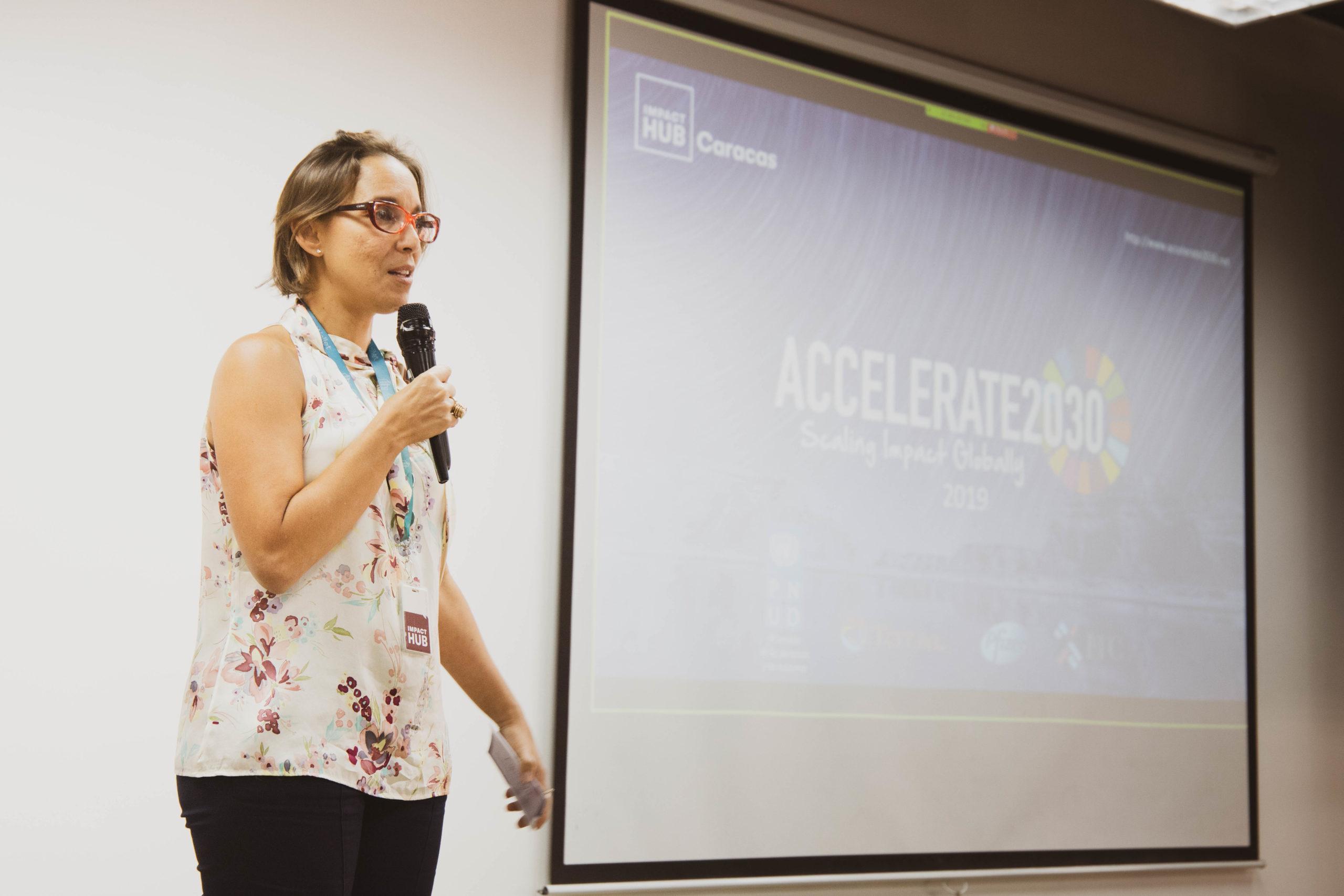 María Alejandra Hernández en Accelerate2030