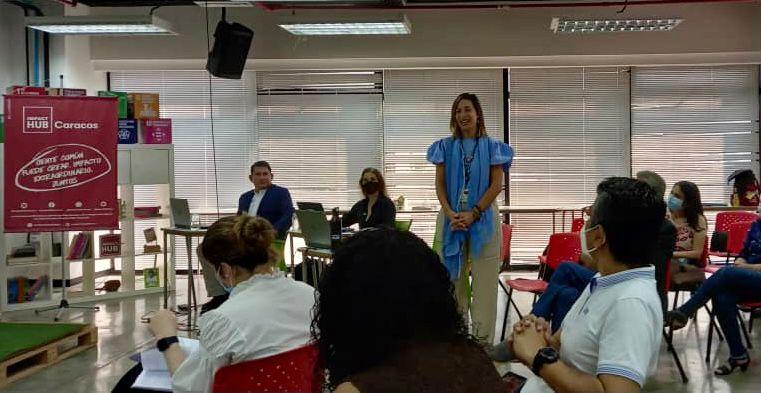 Claudia Valladares.- Presidenta y cofundadora Impact Hub Caracas en Innovation Eco